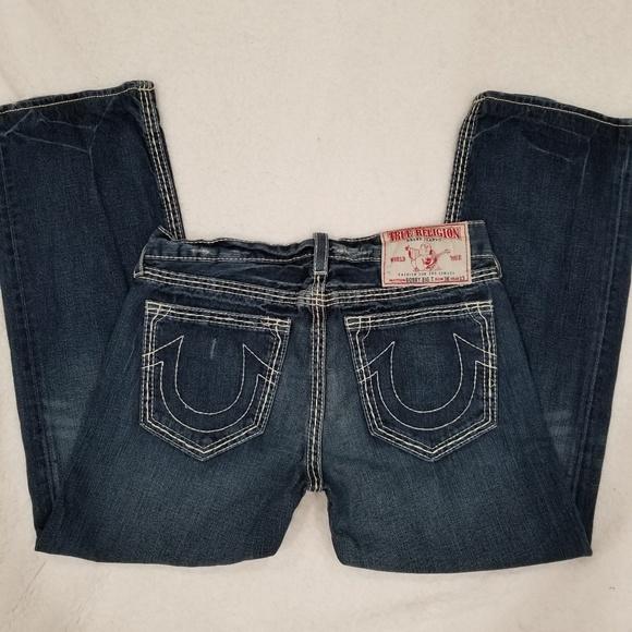 True Religion Bobby Big T Waist 34x29 Mens Jeans
